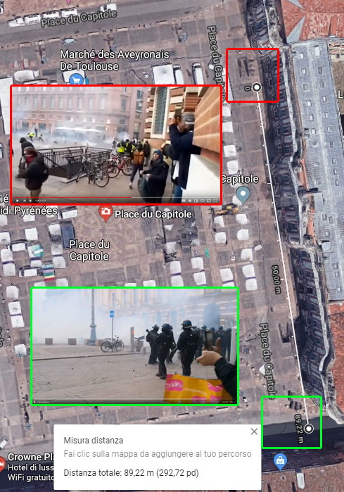 La bufala degli elicotteri di Macron che lanciano lacrimogeni ai Gilet gialli foto 1