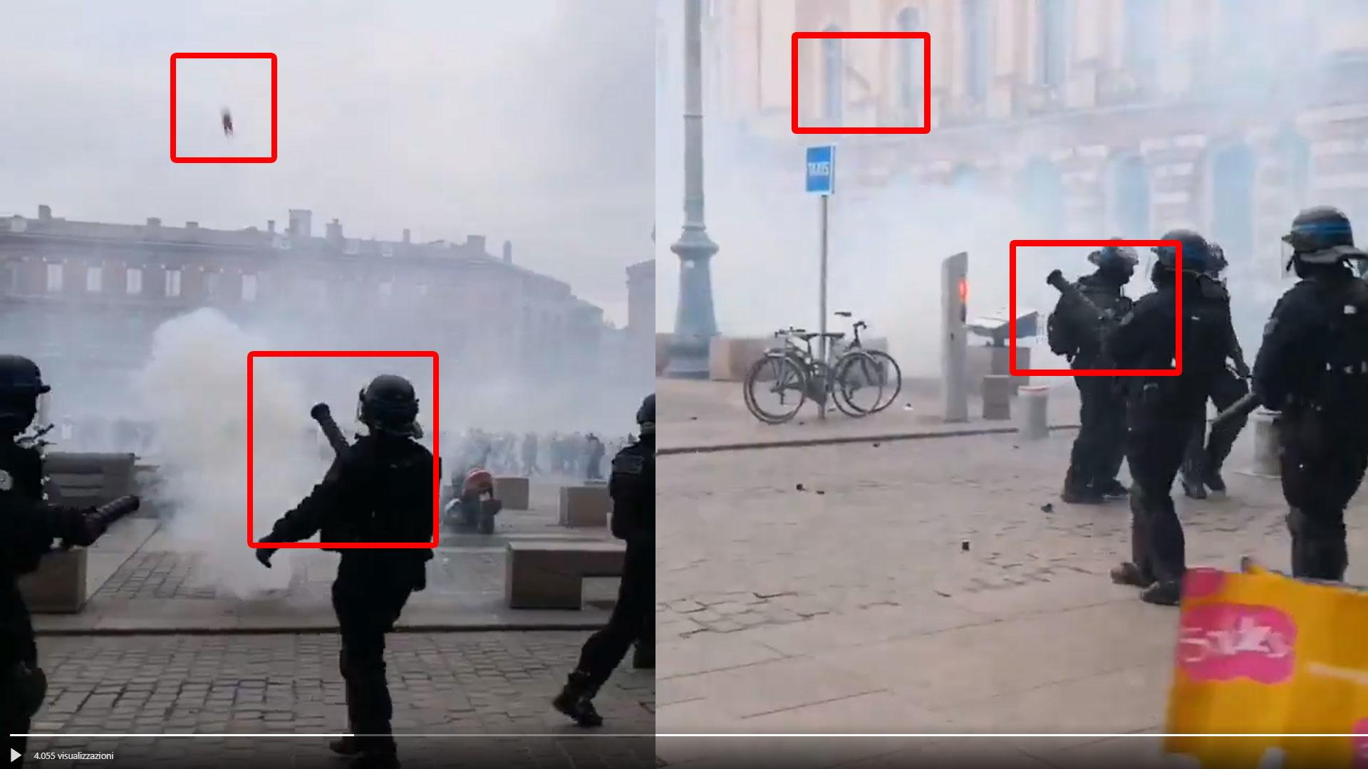 La bufala degli elicotteri di Macron che lanciano lacrimogeni ai Gilet gialli foto 6