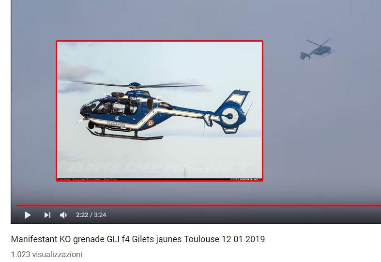 La bufala degli elicotteri di Macron che lanciano lacrimogeni ai Gilet gialli foto 2