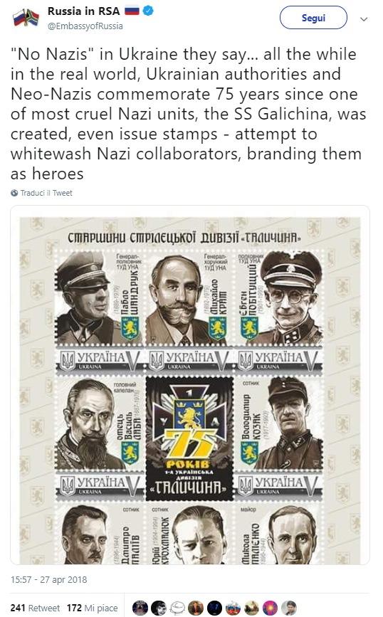 Quando la bufala dei francobolli nazisti in Ucraina colpisce l'onorevole foto 2