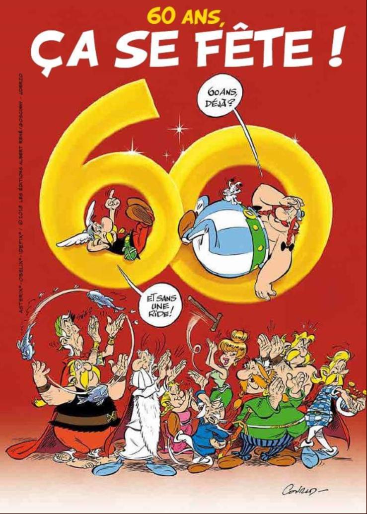 Buon compleanno Asterix, 60 anni a fumetti foto 1