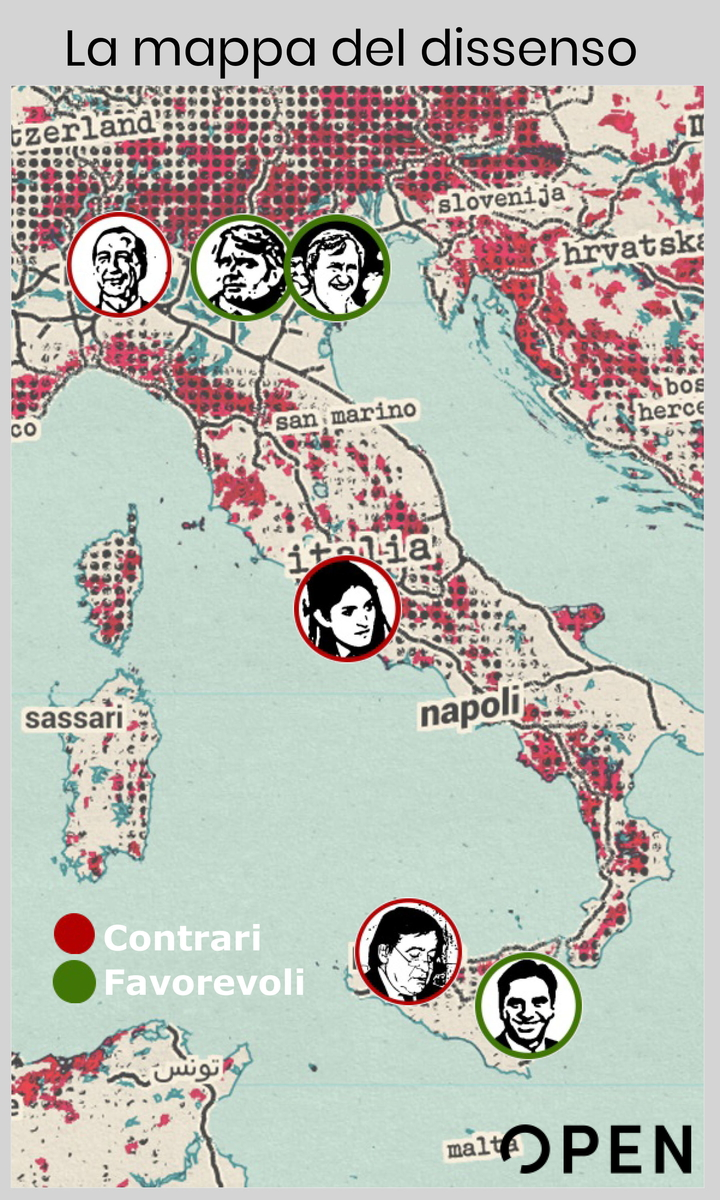 Decreto Sicurezza: la mappa dei sindaci pro e contro l'accoglienza foto 1