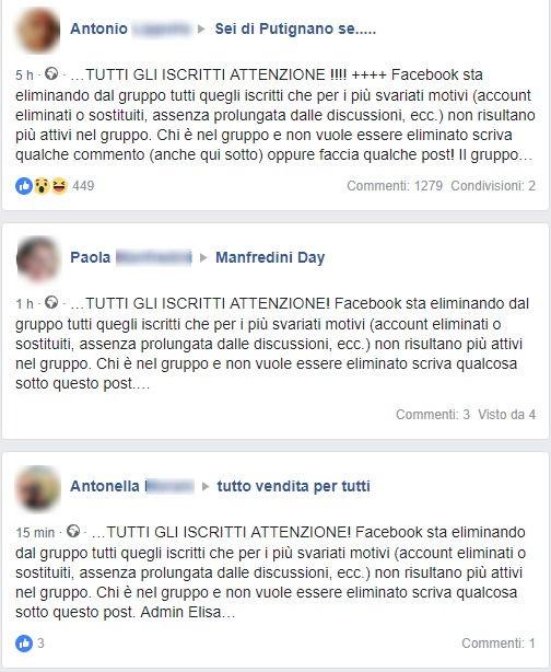 Facebook: la bufala degli utenti non attivi eliminati dai gruppi foto 1