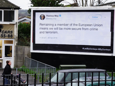 Fact-checking anti Brexit, i tweet dei politici finiscono sui cartelloni pubblicitari foto 4