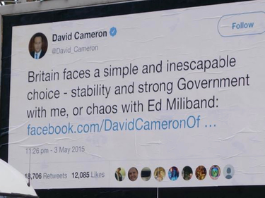 Fact-checking anti Brexit, i tweet dei politici finiscono sui cartelloni pubblicitari foto 2