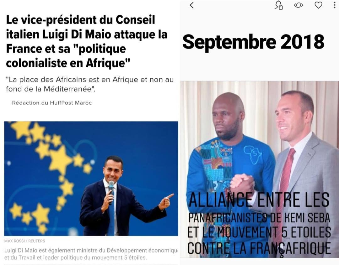 Kémi Séba rivendica l'attacco del Movimento a Macron sul Franco Cfa foto 1