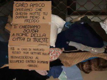 Multa da 100 euro al vicesindaco di Trieste che gettò gli abiti di un clochard foto 2