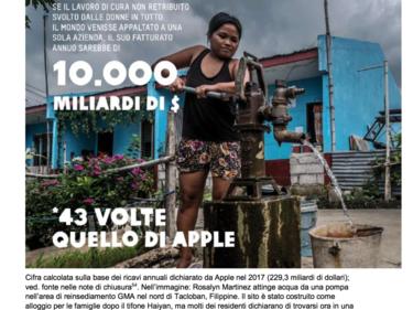 Oxfam: «In Italia il 5% più ricco ha lo stesso patrimonio del 90% più povero» foto 2