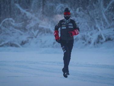 L'italiano che ha corso per 39 chilometri a -52 °C a Open: «Ho voluto sfidare me stesso» foto 3