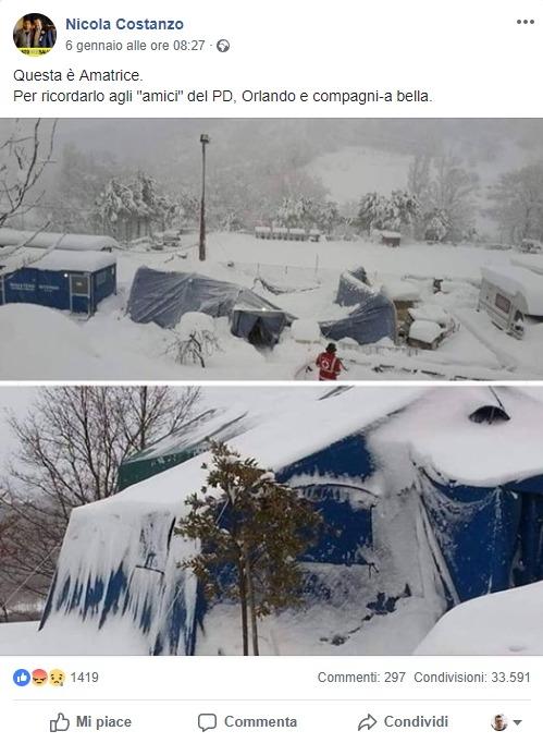 La propaganda continua: altre foto false su Amatrice contro i migranti foto 2