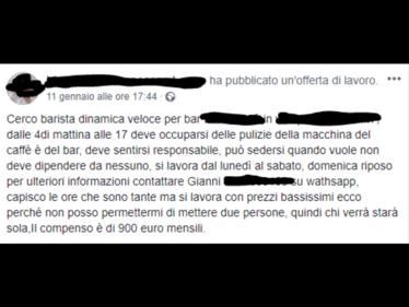 Quattordici ore di lavoro al giorno per 1000 euro: le offerte di lavoro segnalate dai lettori foto 2