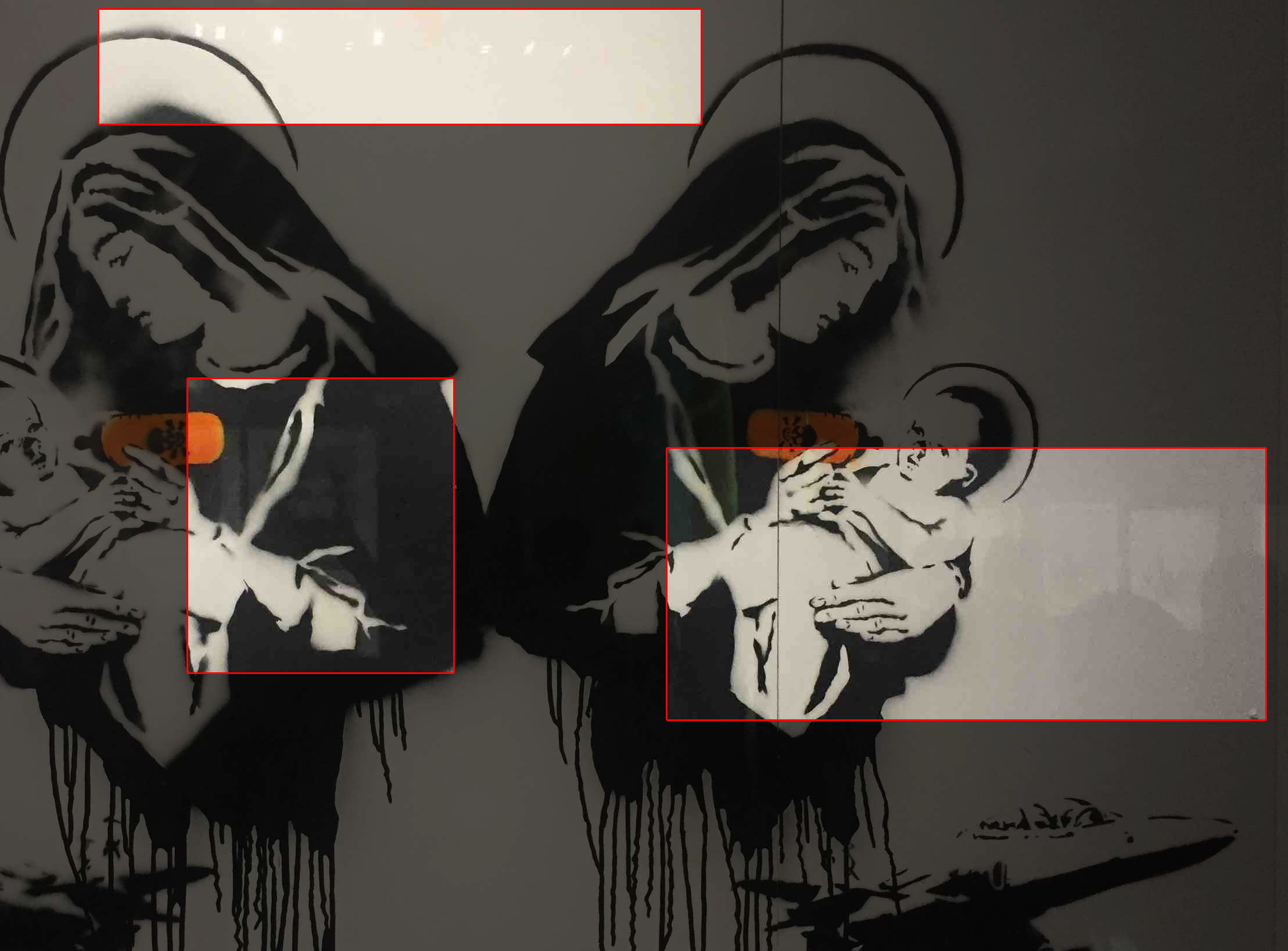 La scoperta di quattro opere di Banksy in Sardegna era una bufala (a fin di bene) foto 1