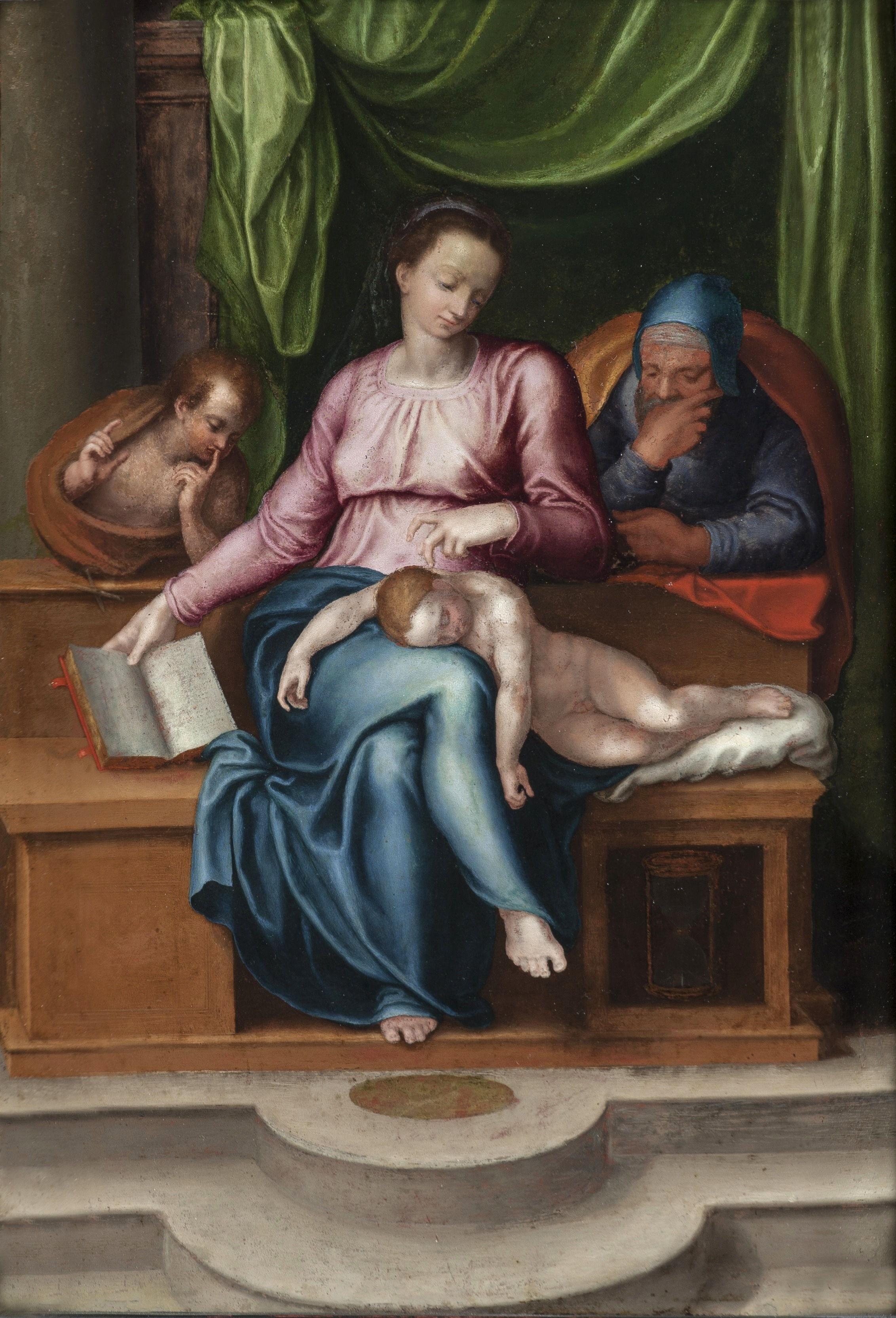 Trafugata in Belgio la «Sacra Famiglia» attribuita a Michelangelo. Ma sarebbe «un falso» foto 6
