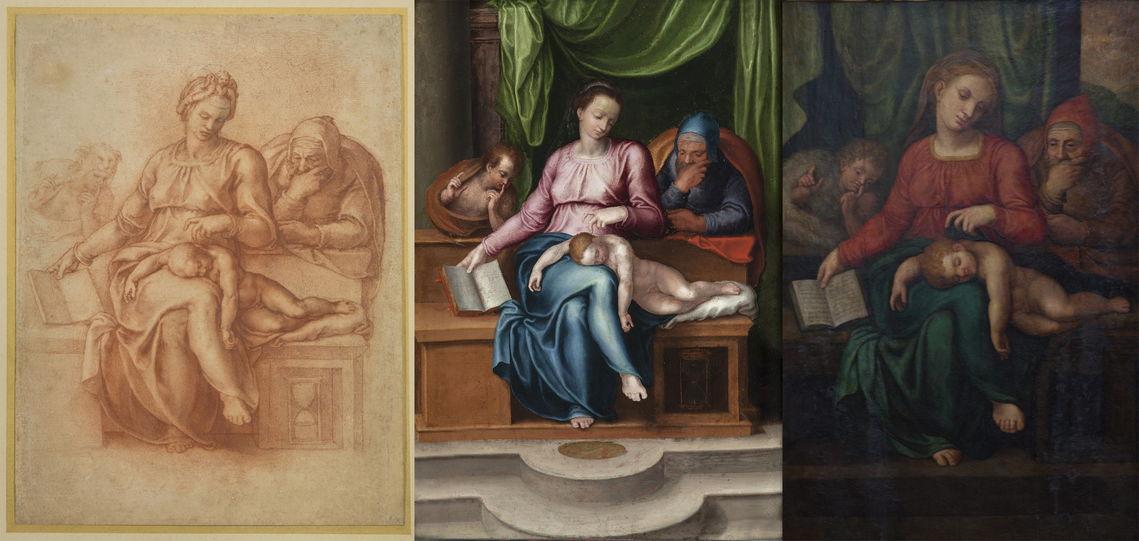 Trafugata in Belgio la «Sacra Famiglia» attribuita a Michelangelo. Ma sarebbe «un falso» foto 7