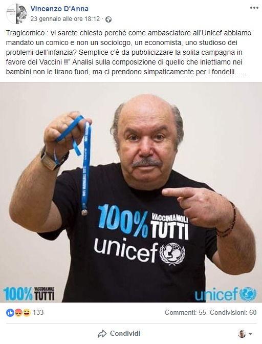 Il vero ruolo di Lino Banfi all'Unesco e le battutacce su Unicef foto 4
