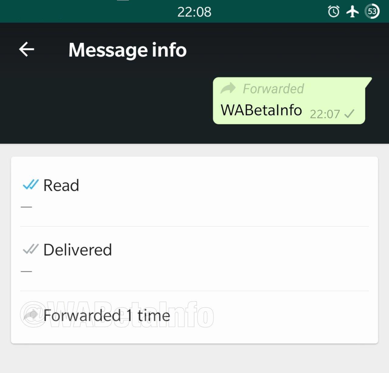 WhatsApp contro le bufale: in test una funzione per vedere quante volte è stato inoltrato un messaggio foto 1