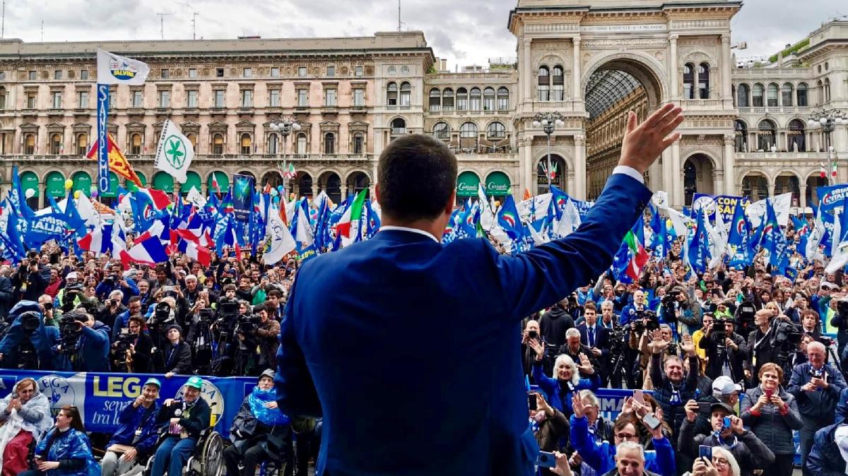 Matteo Salvini alleanza coi sovranisti in Europa