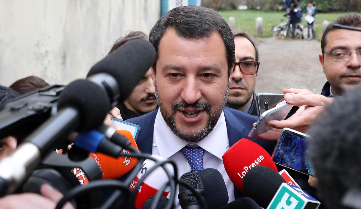 Matteo Salvini europarlamentare