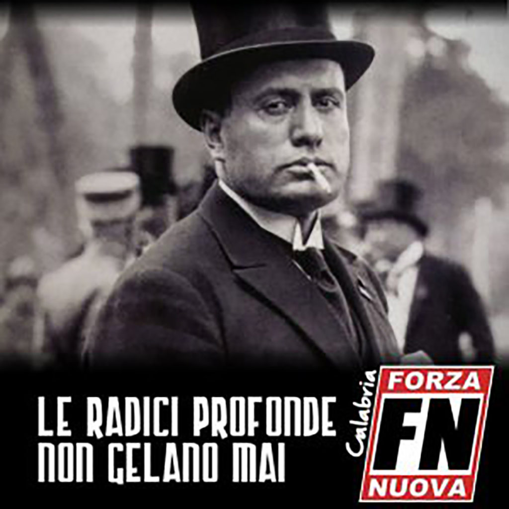 Forza Nuova Mussolini Nelle Immagini Della Campagna Di
