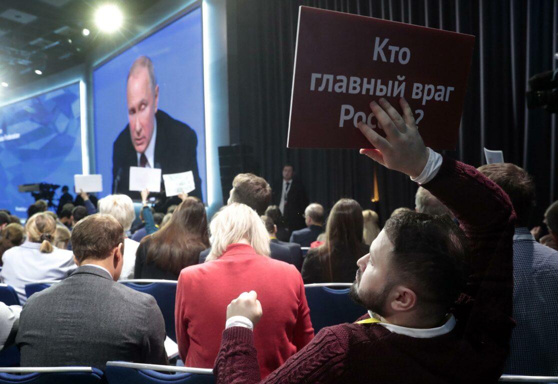 Cambiamento climatico, Putin: una minaccia