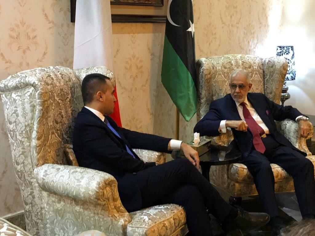 Di Maio di ritorno dalla Libia: