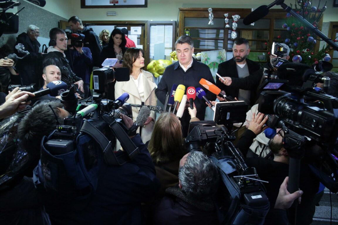 Croazia: 5 gennaio ballottaggio tra Milanovic e Kitarovic
