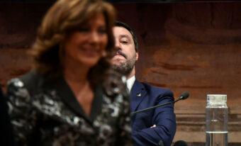 Elisabetta Casellati e Matteo Salvini