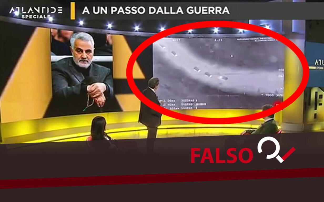 Da video Soleimani a falso rapimento Serraj, doppia gaffe di Purgatori