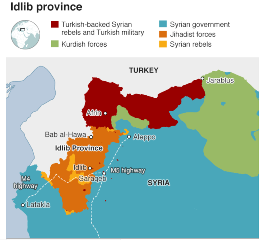 Siria: l'inferno di Idlib. Tre milioni di persone schiacciat