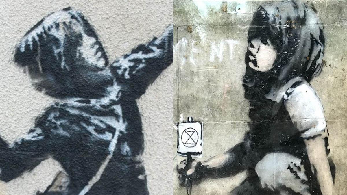 Ma Quale Amore Banksy Ci Ha Sbattuto In Faccia Di Nuovo La Fine Dell Innocenza E La Scelta Della Ribellione Open