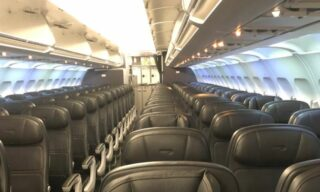 Un volo in partenza da Londra verso Milano, il 3 marzo