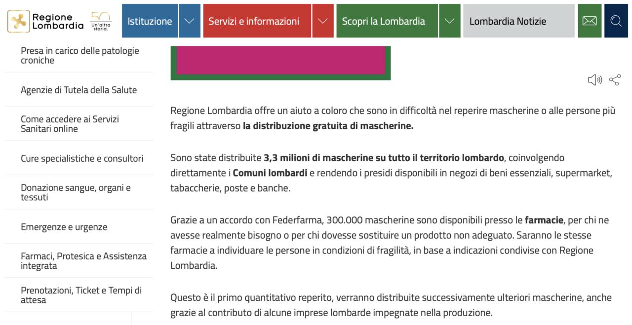 Via WhatsApp documento falso sulla Fase 2 in Lombardia
