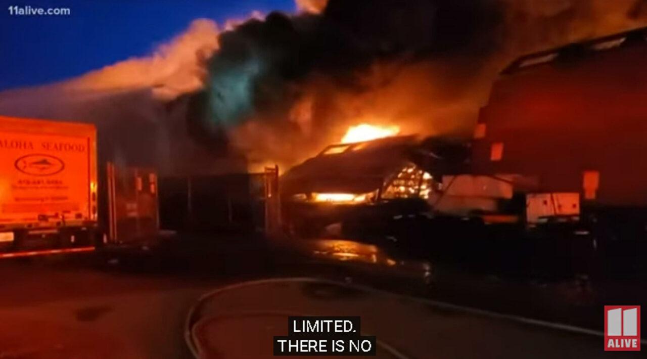 Usa, grande incendio al molo di San Francisco: distrutta parte della zona ...