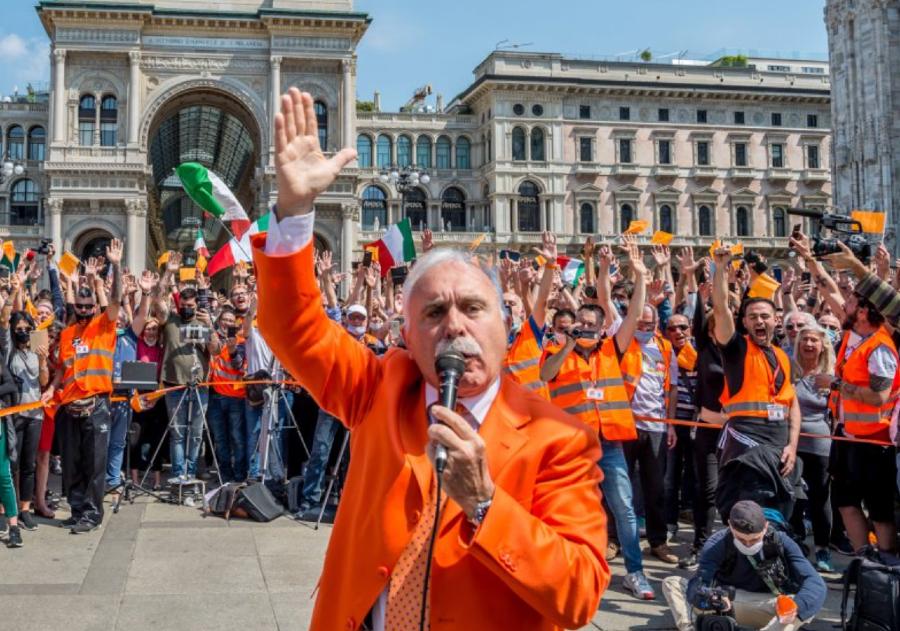 Gilet arancioni, in piazza in tutta Italia (senza mascherine) per ...