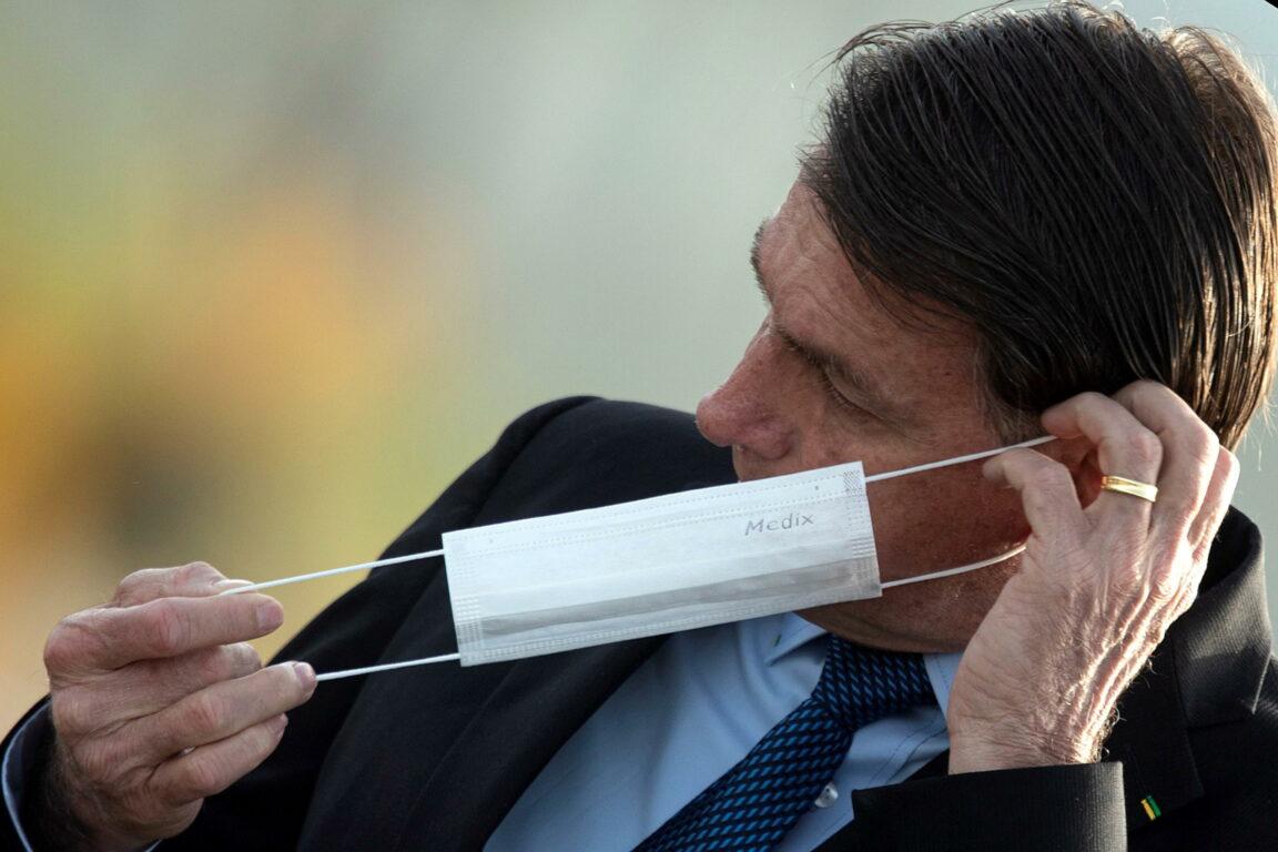 EPA  Joedson Alves | Il presidente brasiliano Jair Bolsonaro