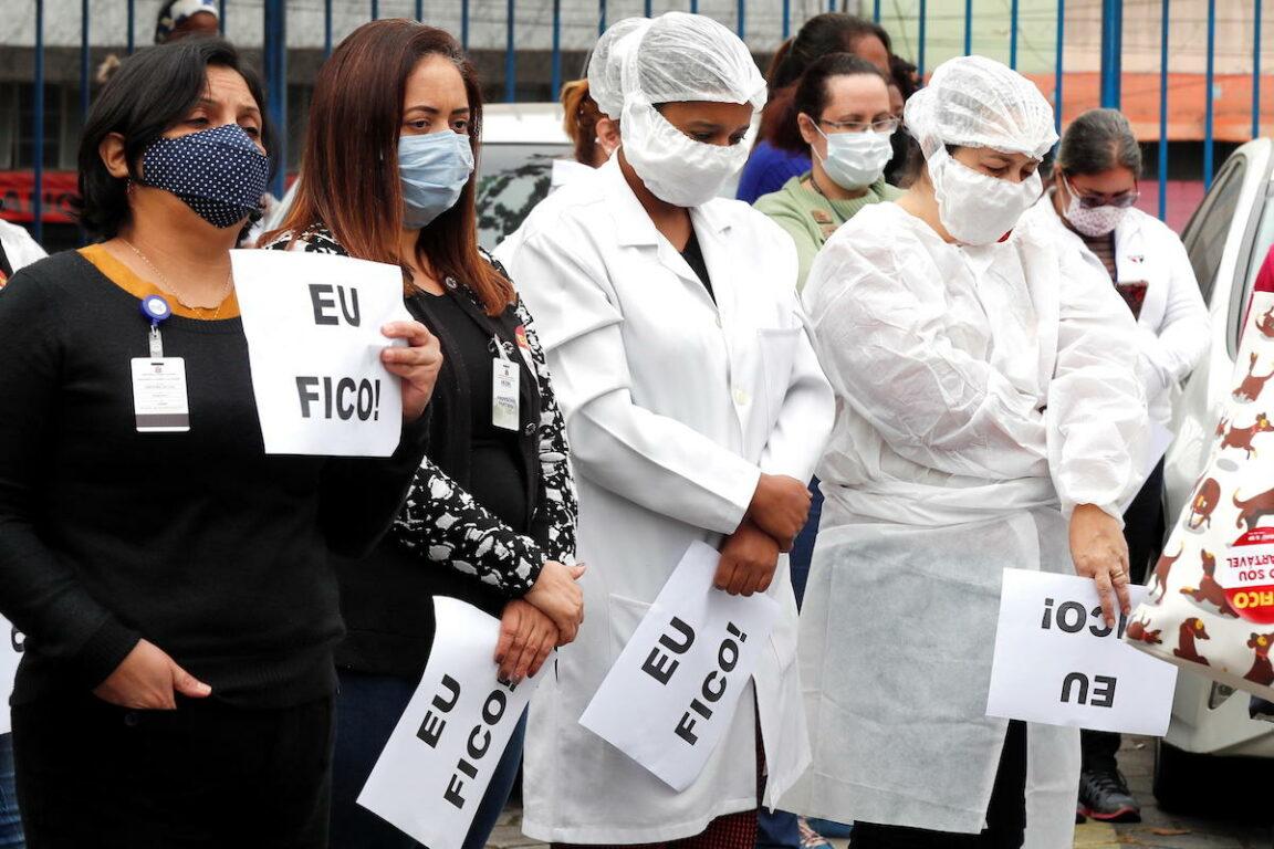 Coronavirus, in Brasile 1.262 morti in 24 ore: mai così tant