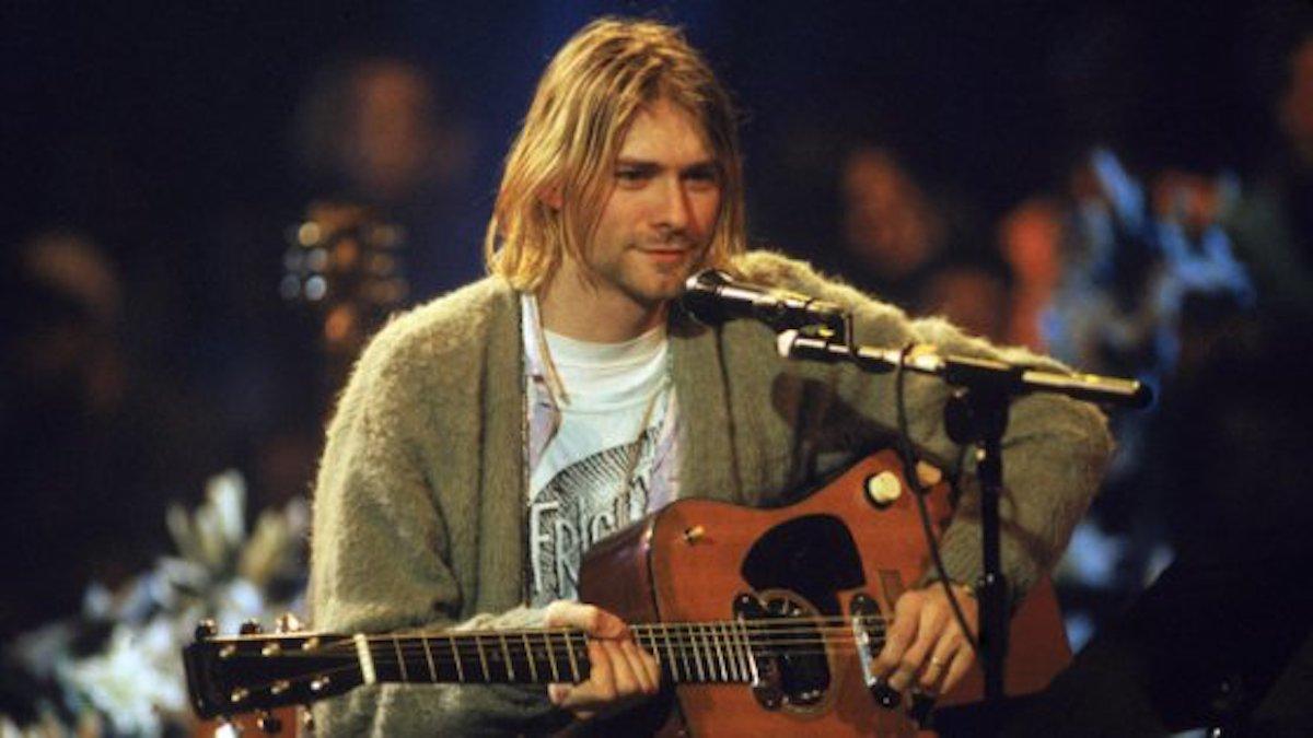 Cobain, venduta per 6 milioni di dollari la chitarra del concerto unplugged