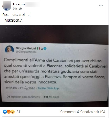 Giorgia Meloni su fb: «Si vota, sapete cosa fare». E arrivano migliaia di commenti: «Ce la faremo»