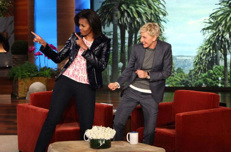 DeGeneres e Michelle Obama