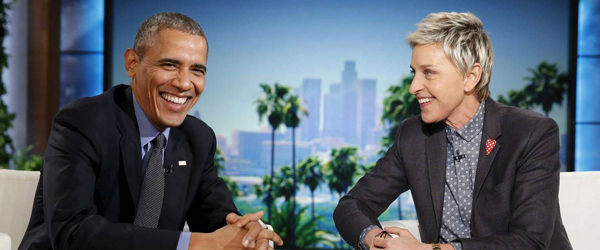 Barack Obama The Ellen DeGeneres Show