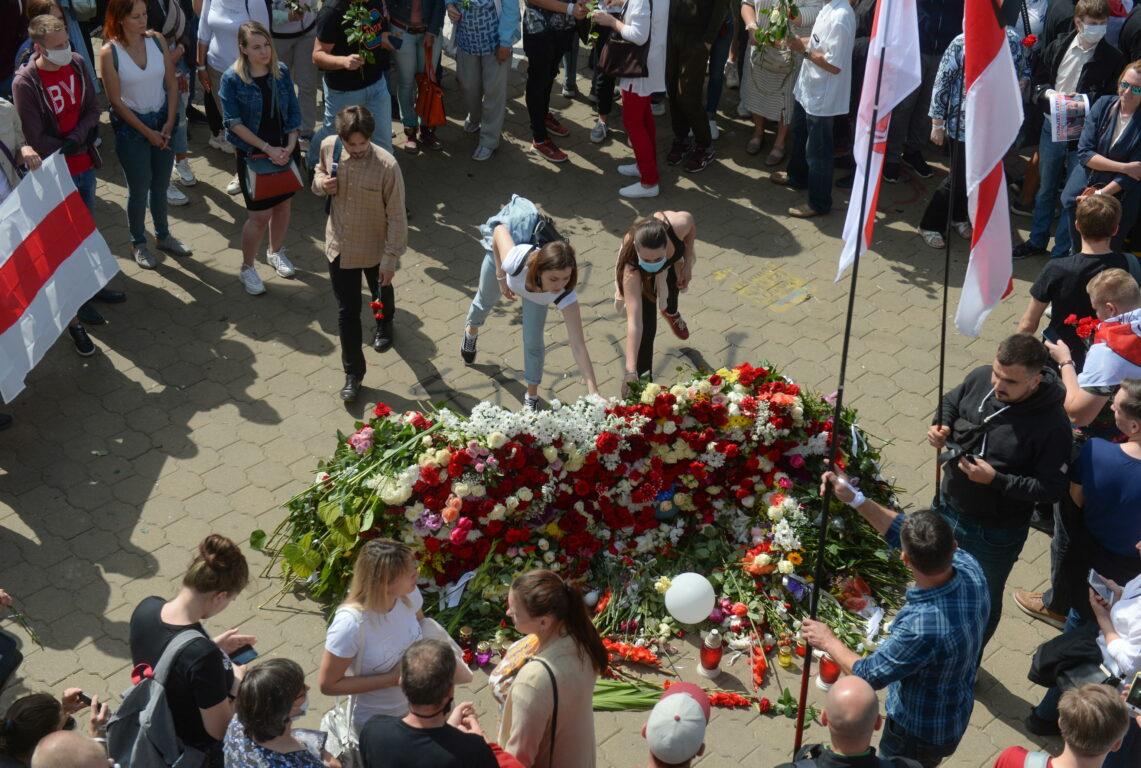 Protesta anti Lukashenko: decine di migliaia di persone in piazza