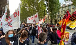 Scuola, proteste studentesche in tutta Italia contro la ministra Azzolina e le classi pollaio – La gallery