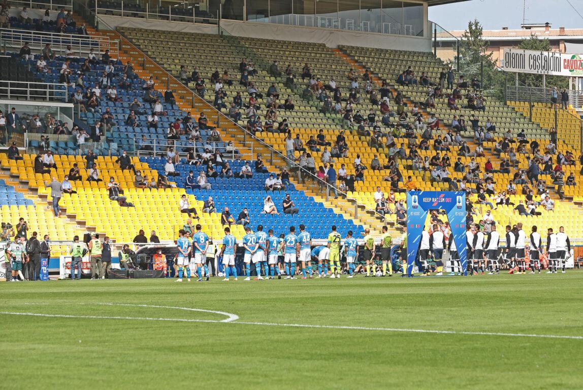 Bocciata la richiesta dell'apertura degli stadi al 25% della capienza totale