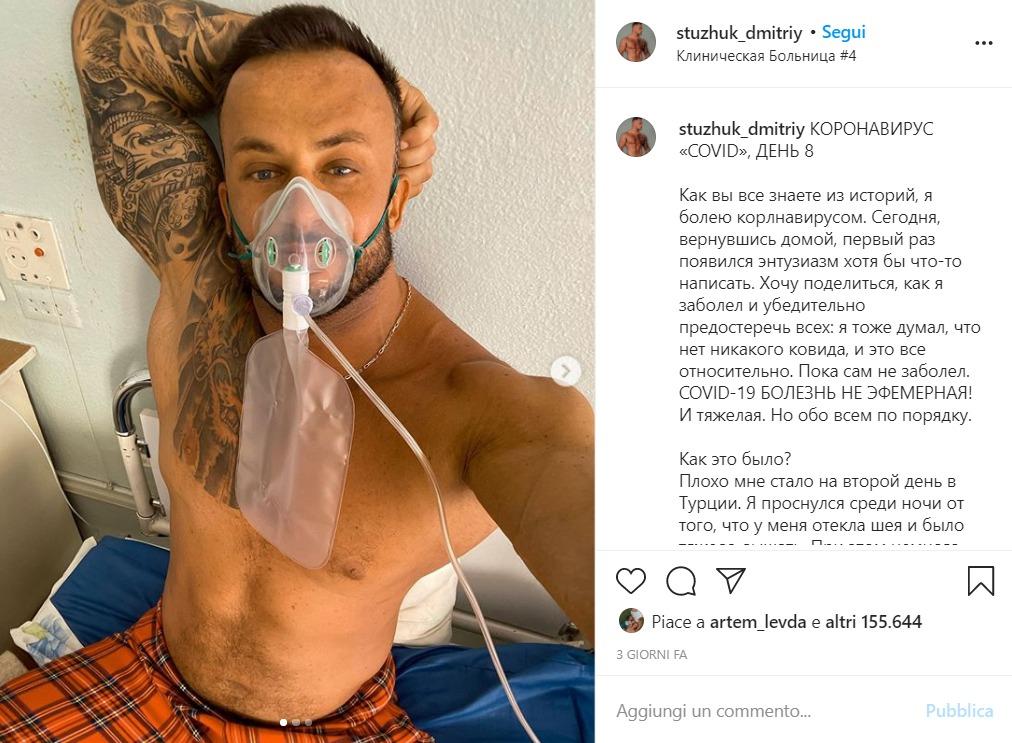 Lascia l'ospedale e non segue i consigli dei medici |  muore di Covid a 33 anni l'influencer negazionista