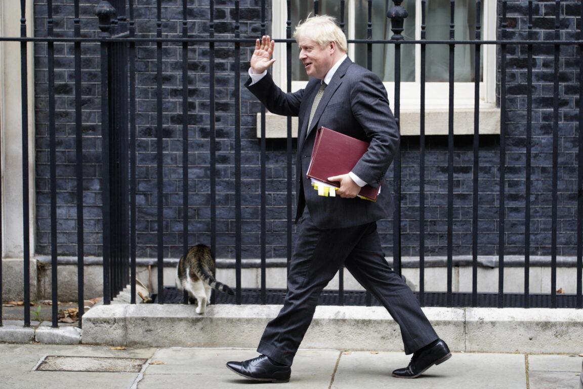Il primo ministro inglese Boris Johnson