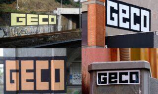 GECO | Quattro scritte dello street artist