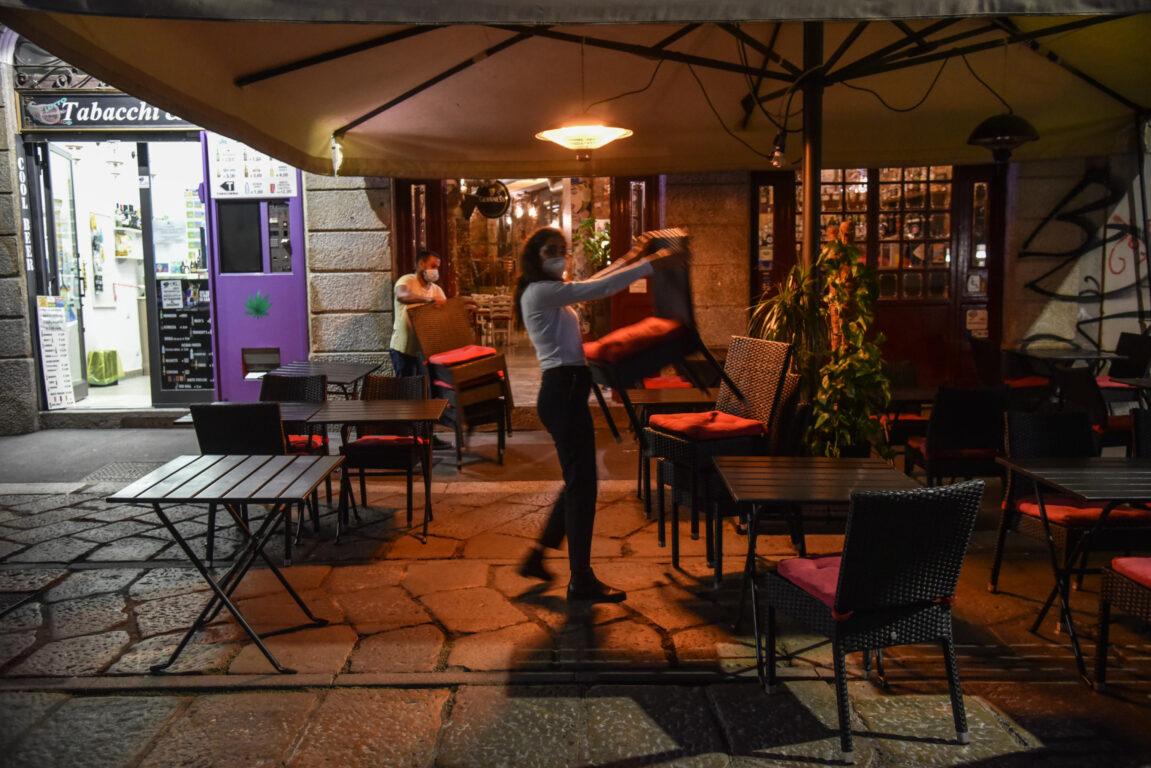 Un locale in zona Navigli a Milano