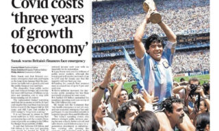 morte-maradona-prima-pagina-the-times