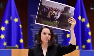 Awarding of Sakharov Human Rights prize at European Parliament
