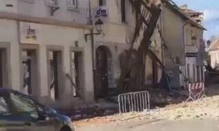 ++ Terremoto Croazia: gravi danni a Petrinja, edifici crollati +